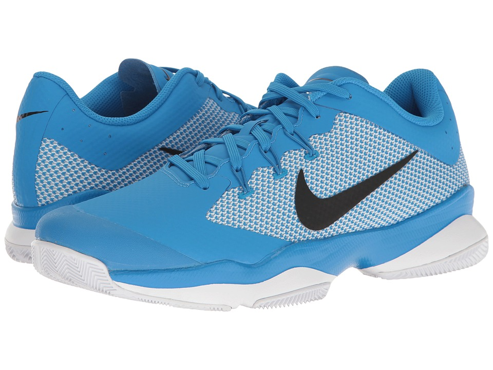 Nike - Air Zoom Ultra (Light Photo Blue/Black/White/Black) Men's Tennis Shoes