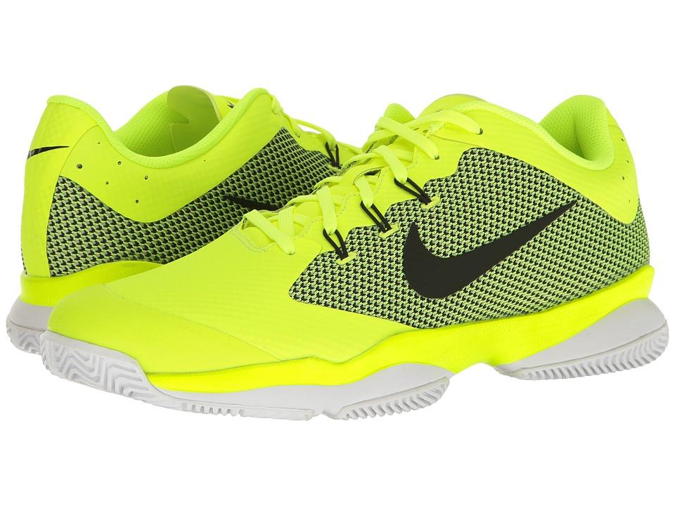 Nike - Air Zoom Ultra (Volt/Black/White/Black) Men's Tennis Shoes
