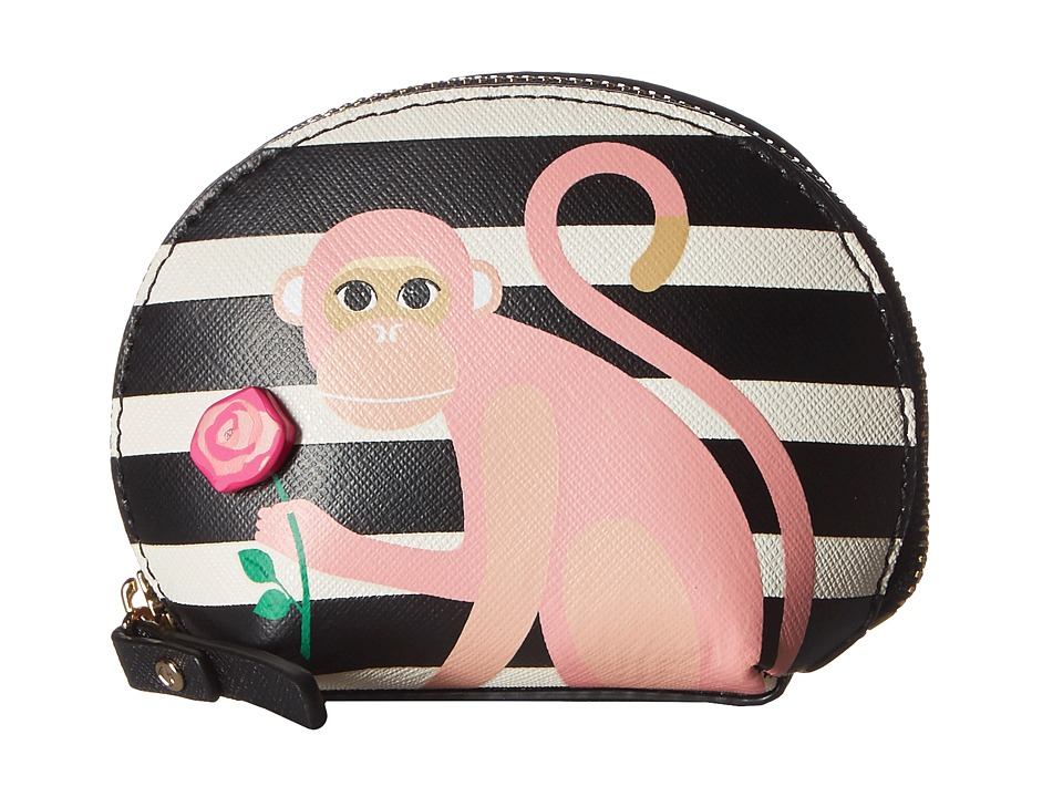 Kate Spade New York - Rambling Roses Monkey Dumpling (Multi) Wallet