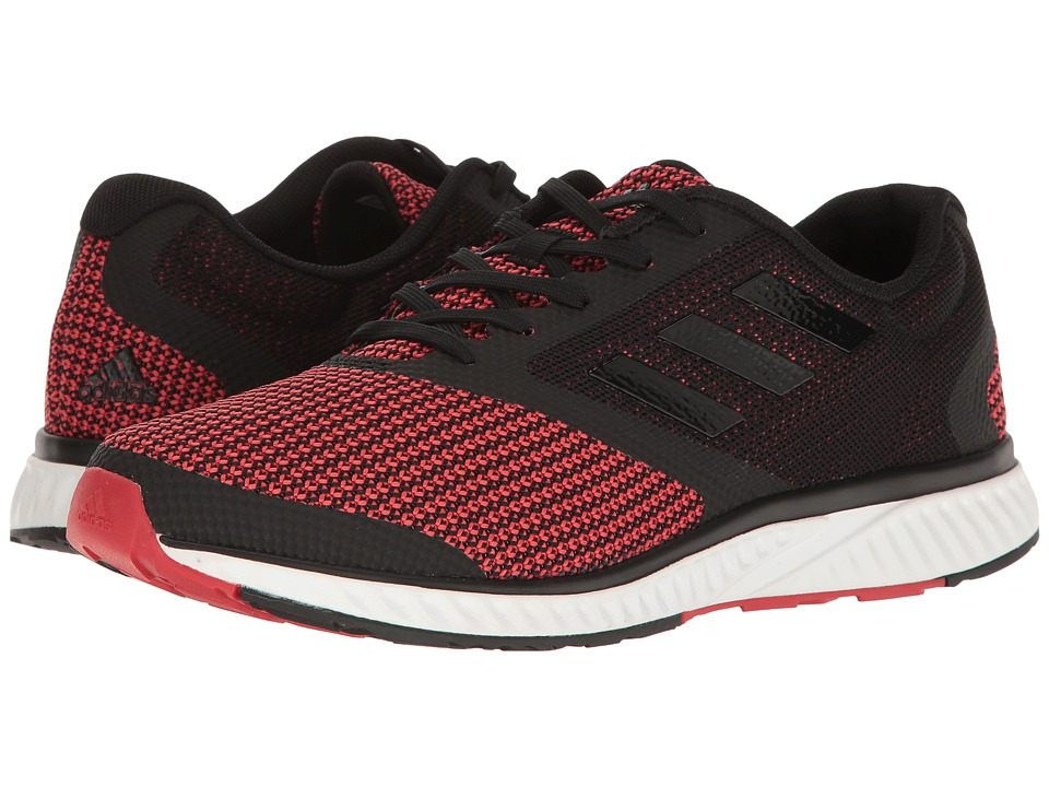 adidas Running - Mana Racer (Black/Scarlet) Men's Running Shoes