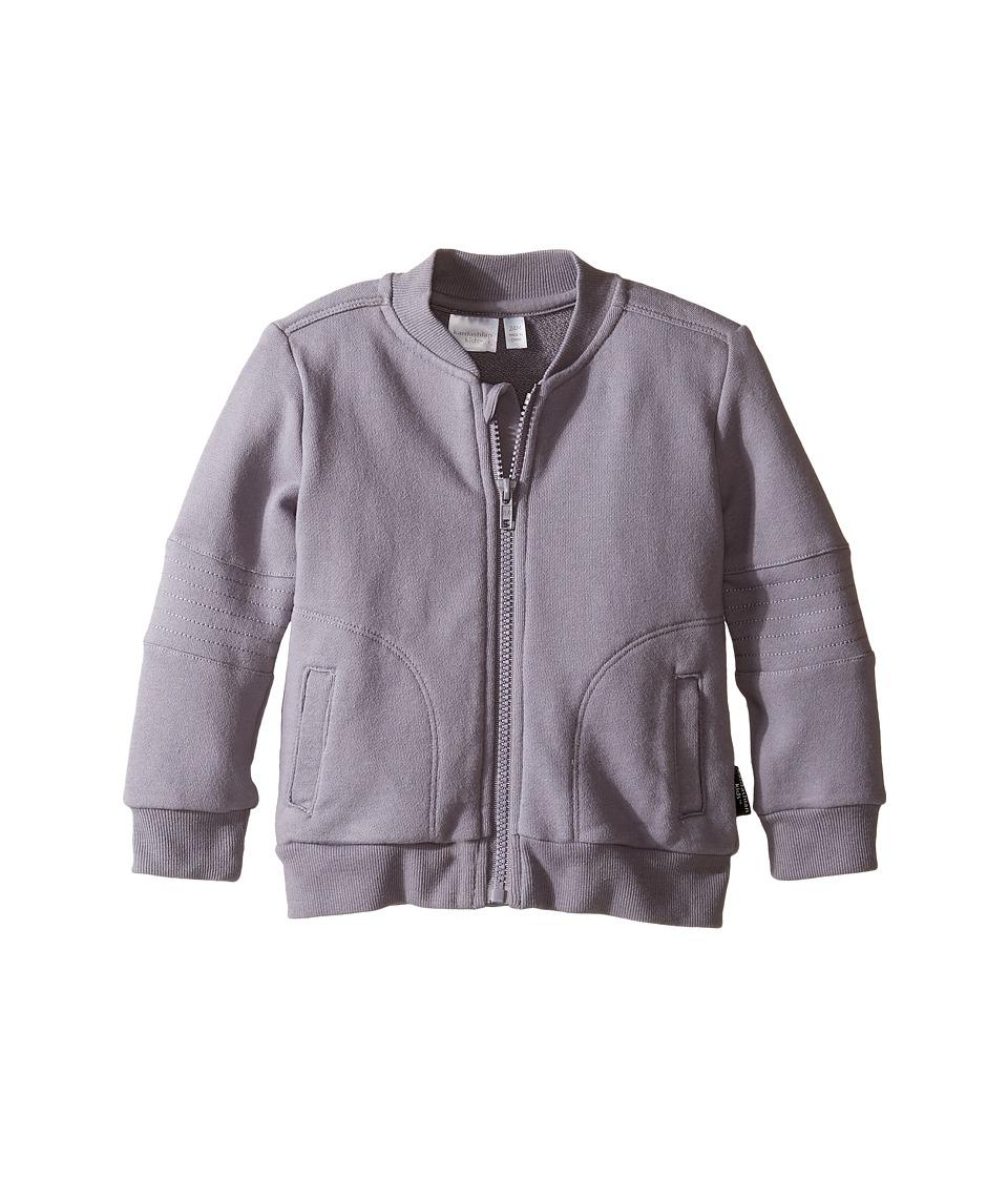 Kardashian Kids - French Terry Acid Wash Hoodie (Infant) (Grey) Boy's Sweatshirt