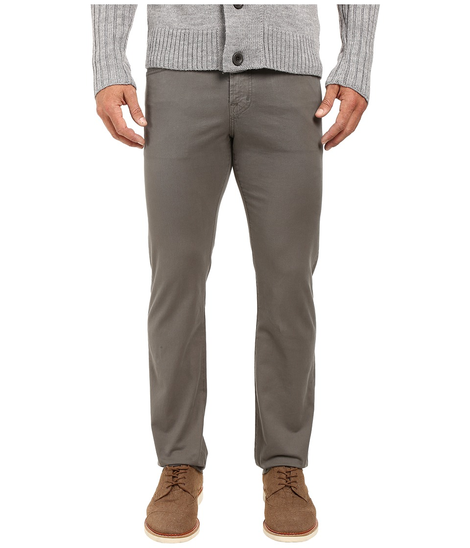 AG Adriano Goldschmied - Matchbox Slim Straight Twill in Castor Grey (Castor Grey) Men's Jeans