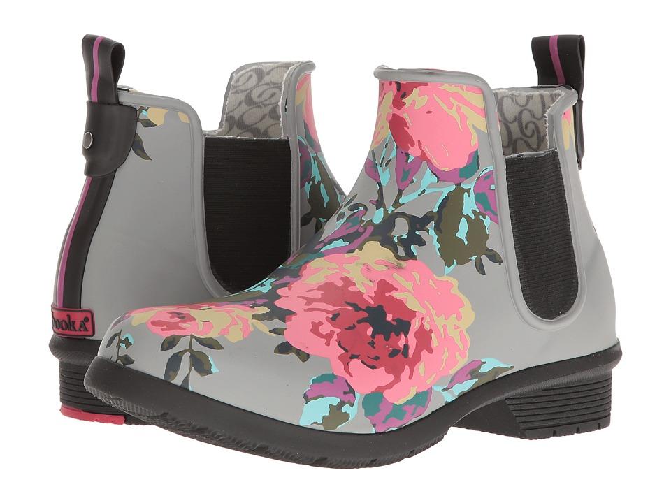 Chooka - Classic Chelsea Alice (Gray Matte) Women's Rain Boots
