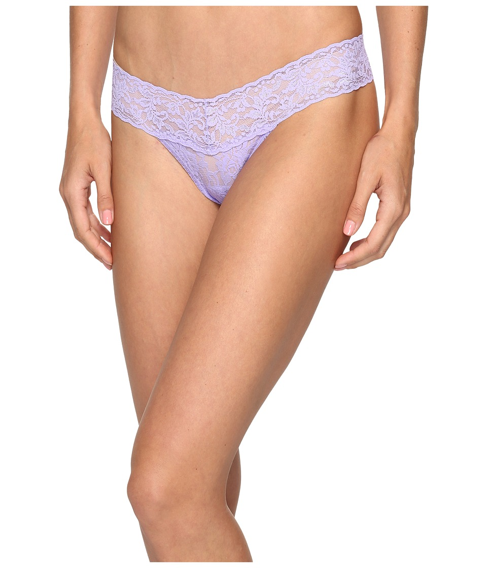 Hanky Panky - Petite Signature Lace Low Rise Thong (Hyacinth) Women's Underwear