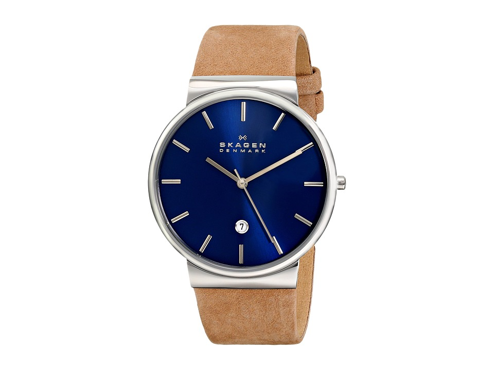 Skagen - SKW6103 (Brown/Blue) Watches