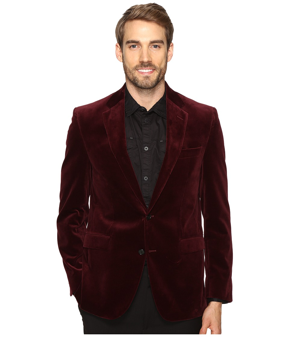 Kenneth Cole Reaction - The City Coat (Merlot) Men's Coat