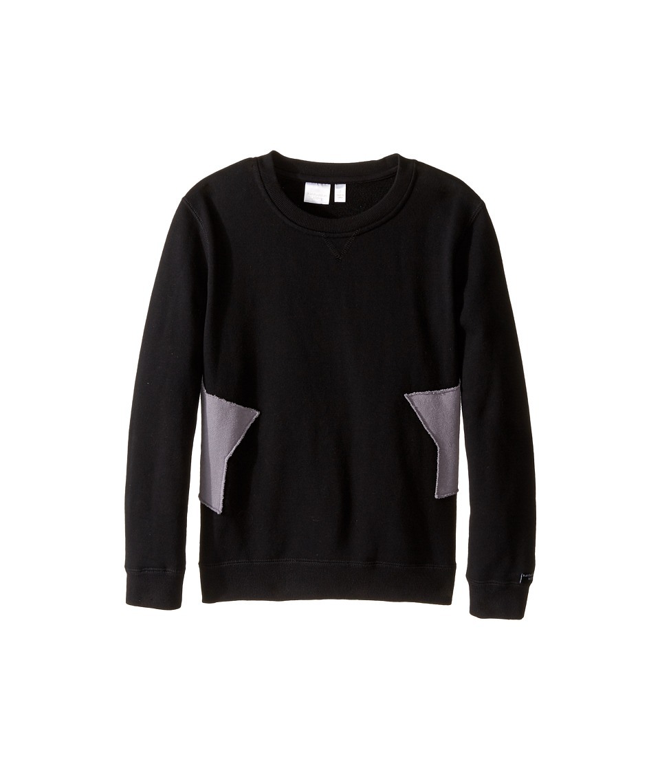 Kardashian Kids - Star Sides Sweatshirt (Toddler/Little Kids) (Black/Grey) Boy's Sweatshirt