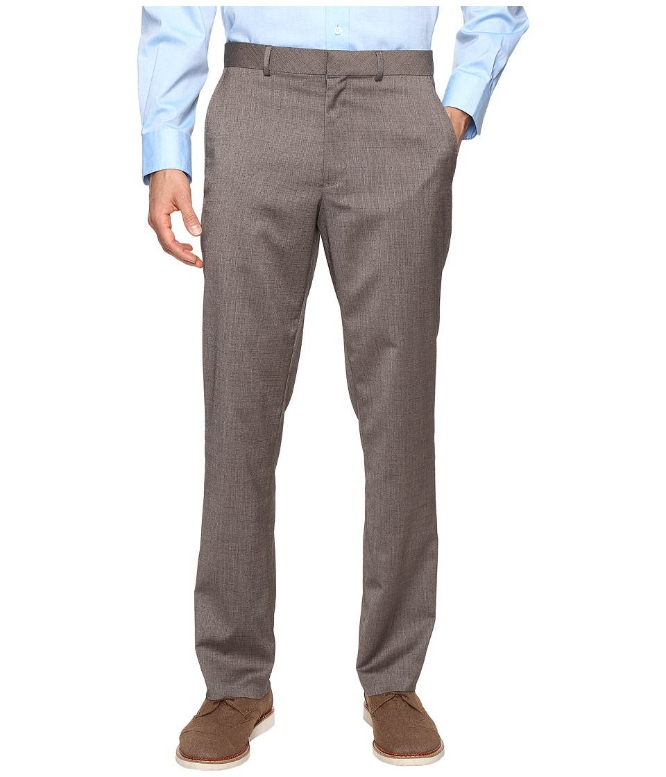 Kenneth Cole Reaction - Techni-Cole Stretch Pants (Tan) Men's Dress Pants