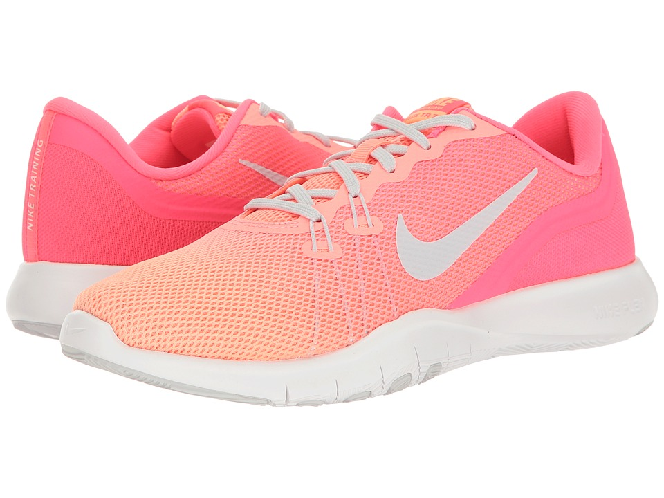 Nike - Flex Trainer 7 Fade (Racer Pink/Pure Platinum/Sunset Glow) Women's Cross Training Shoes