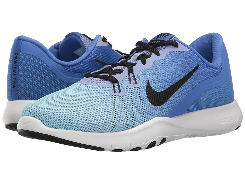 Nike - Flex Trainer 7 Fade (Medium Blue/Black/Still Blue) Women's Cross Training Shoes