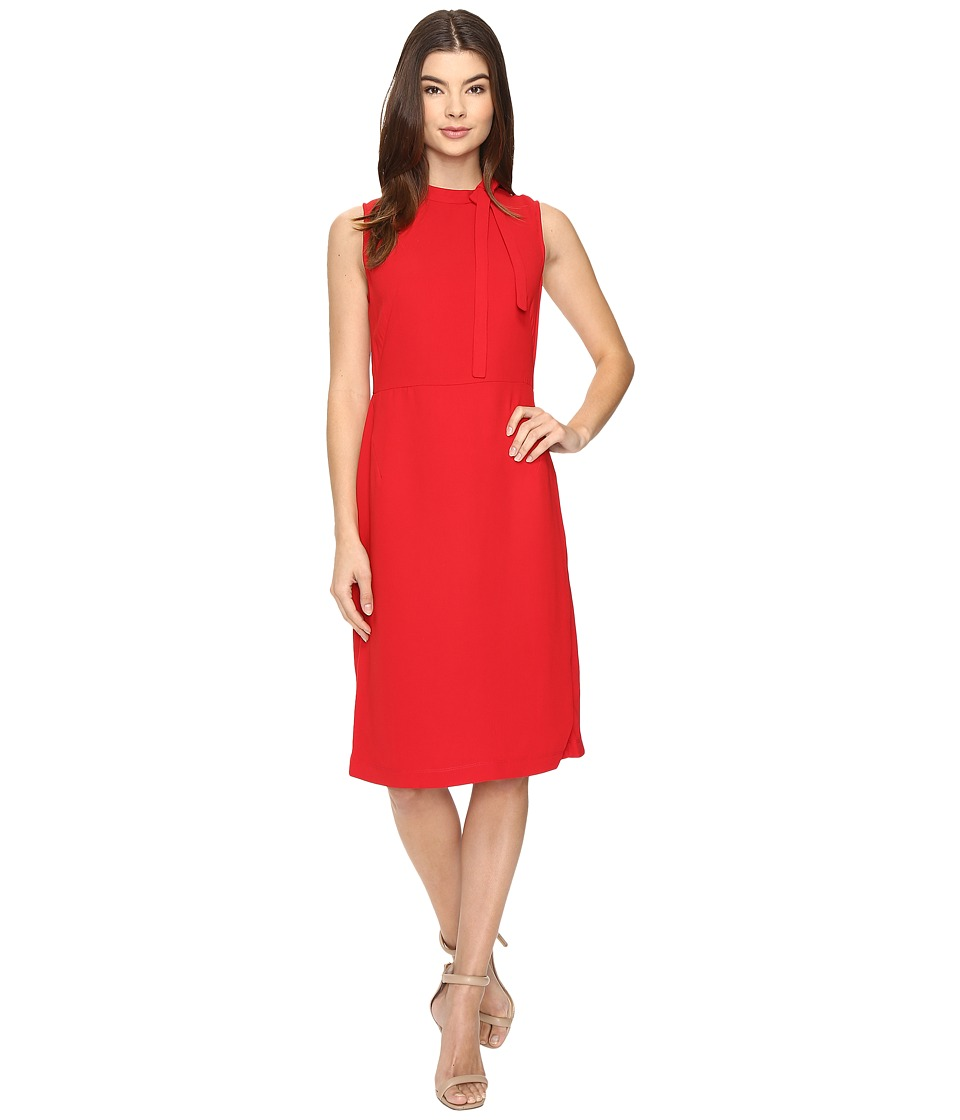 Christin Michaels - Holland Sleeveless Dress (Red) Women's Dress