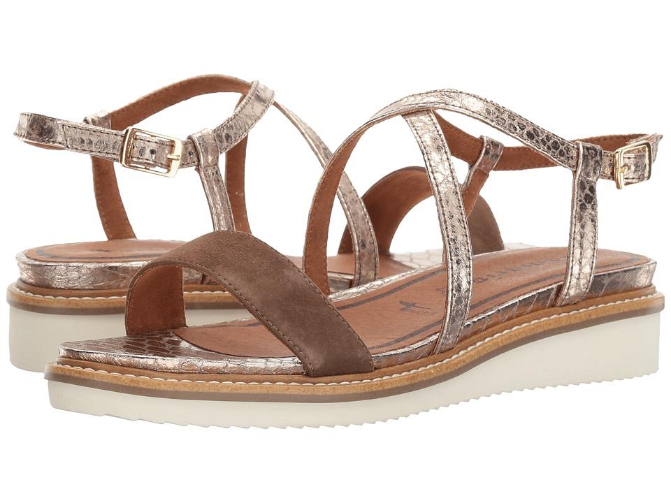 Tamaris - Eda-6 1-28206-28 (Terra/Platinum) Women's Shoes