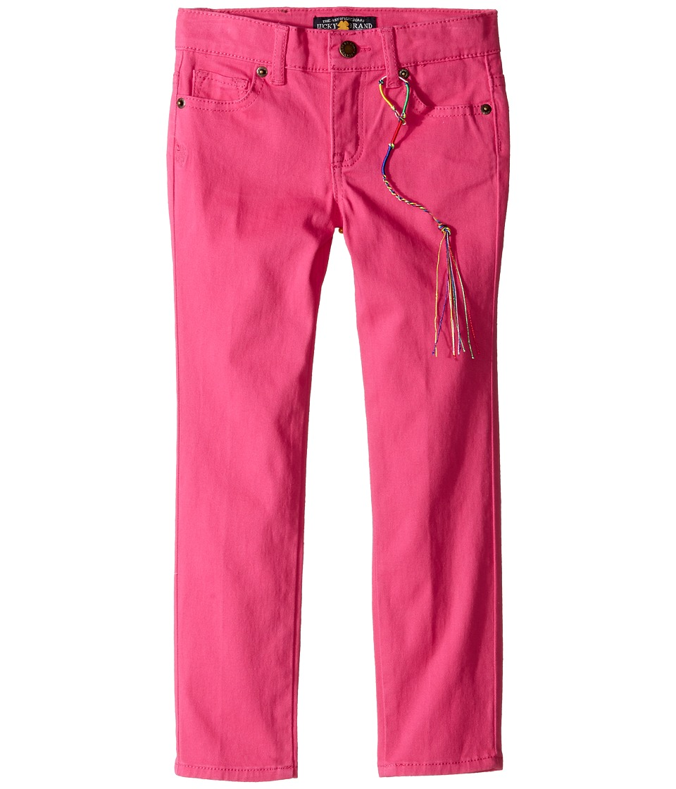 Lucky Brand Kids - Colored Zoe Jeans in Magenta (Little Kids) (Magenta) Girl's Jeans