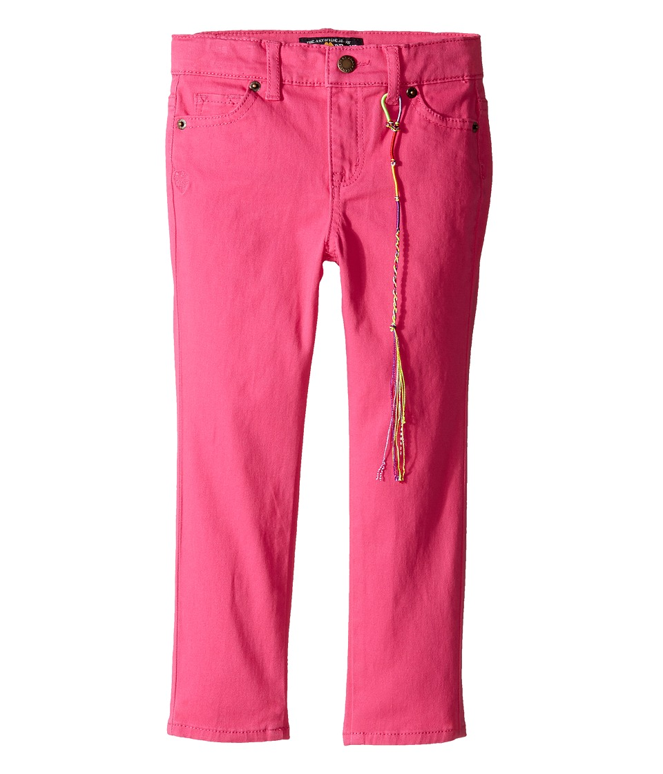 Lucky Brand Kids - Colored Zoe Jeans in Magenta (Toddler) (Magenta) Girl's Jeans