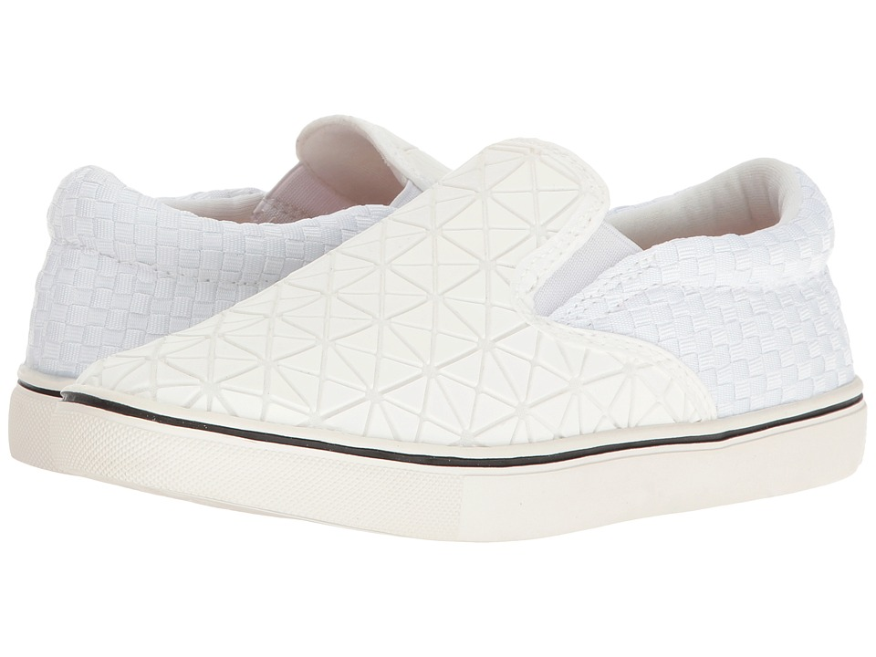 bernie mev. - Verona Web (White) Women's Slip on Shoes