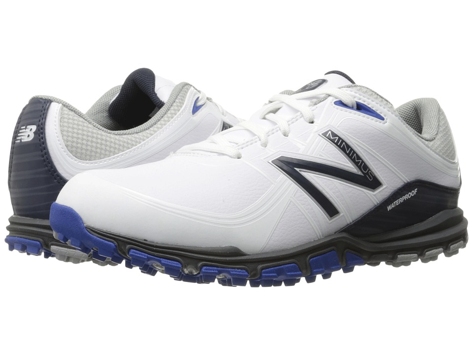 New Balance Golf - NBG1005 Minimus (White/Blue) Men's Golf Shoes
