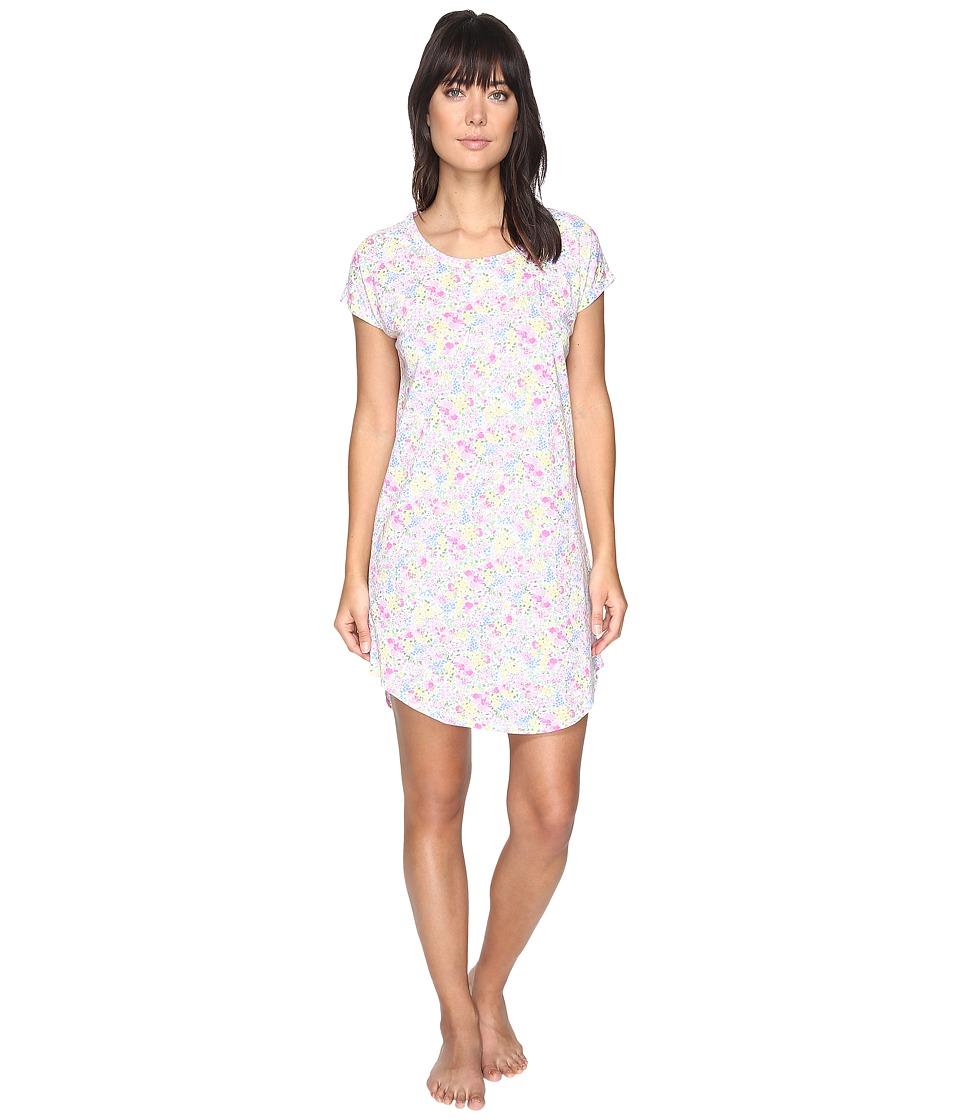 LAUREN Ralph Lauren - Short Sleeve Sleep Tee (Multi Floral) Women's Pajama