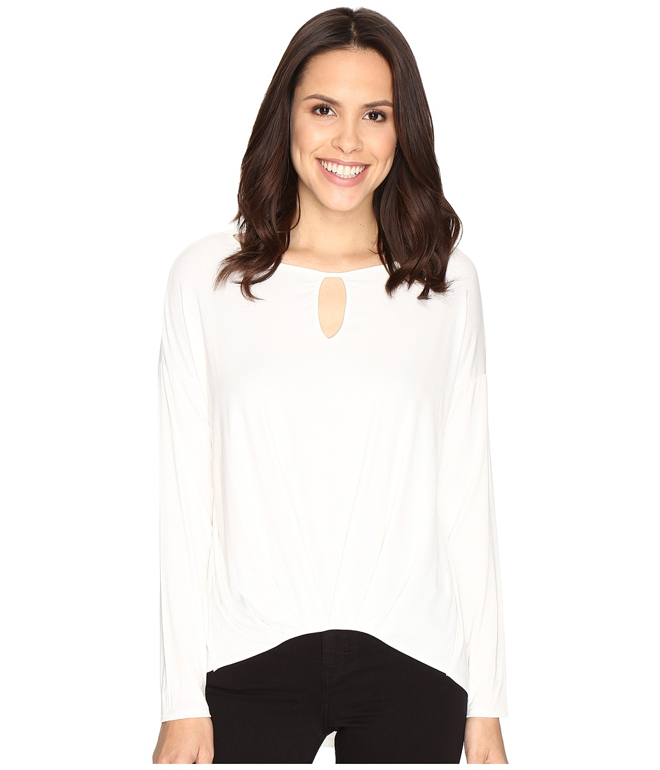 Christin Michaels - Kettle Lake Top (White) Women's Clothing
