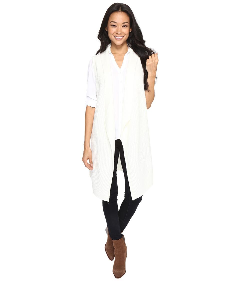Brigitte Bailey - Tectonic Cozy Vest (Winter White) Women's Vest
