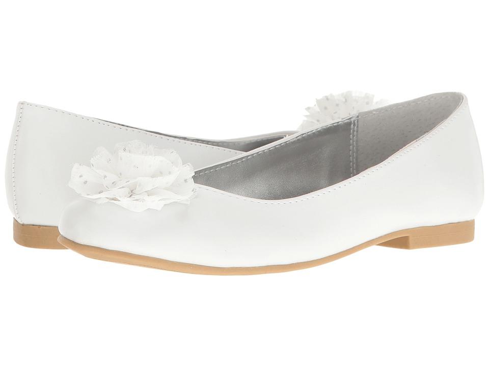 Nina Kids - Ash (Little Kid/Big Kid) (White) Girl's Shoes