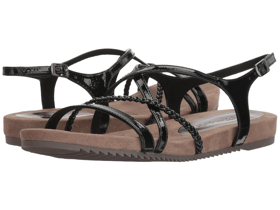 Tamaris - Locust-1T 1-28106-28 (Black Patent) Women's Shoes