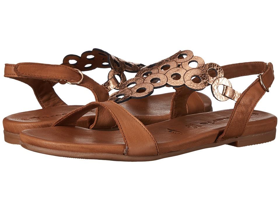 Tamaris - Kim-1-New 1-28102-28 (Nut/Rose Metallic) Women's Shoes