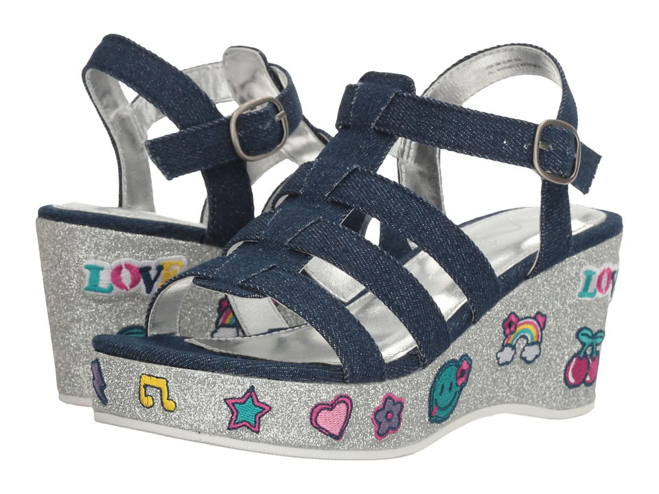 Nina Kids - Bubbles (Little Kid/Big Kid) (Blue) Girl's Shoes