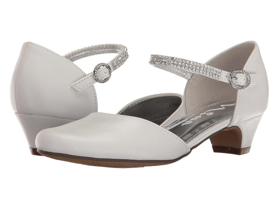 Nina Kids - Cera (Little Kid/Big Kid) (White) Girl's Shoes