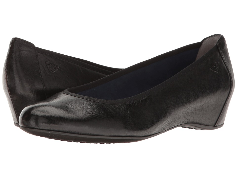 Tamaris - Lula 1-22421-28 (Black Leather) Women's Shoes