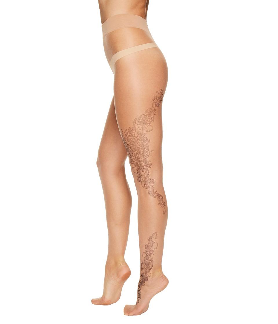 Wolford - Amila Tights (Gobi/Black) Women's Casual Pants