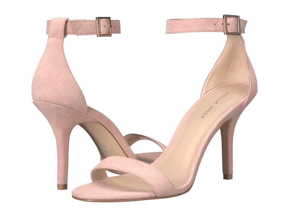 Pelle Moda - Kacey (Pale Pink Suede) High Heels