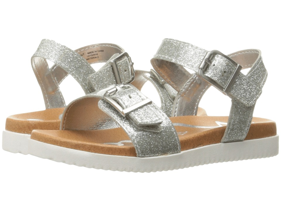 Nina Kids - Jacklin 2 (Toddler/Little Kid/Big Kid) (Silver) Girl's Shoes