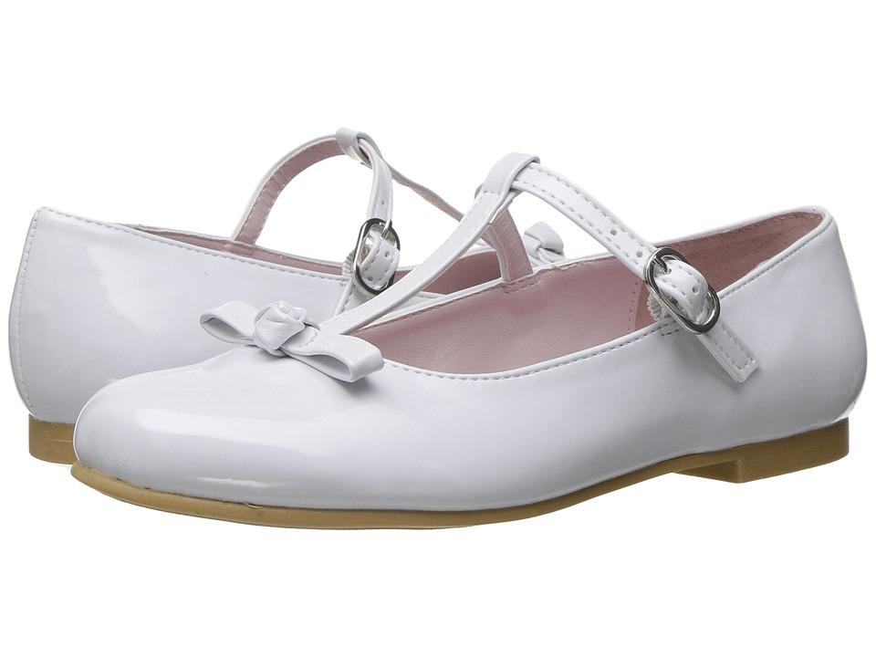 Nina Kids - Jami (Toddler/Little Kid/Big Kid) (White) Girl's Shoes