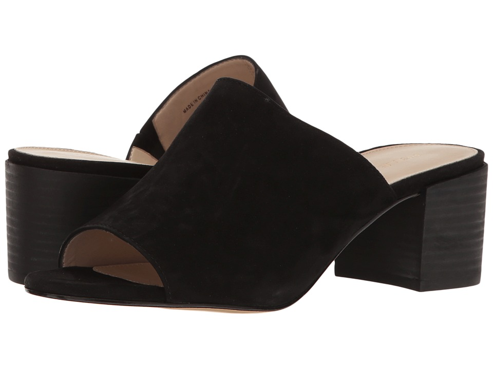 Pelle Moda - Union (Black Suede) High Heels
