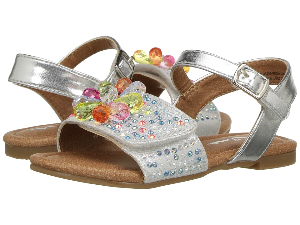 Nina Kids - Lindy (Toddler/Little Kid) (Silver) Girl's Shoes