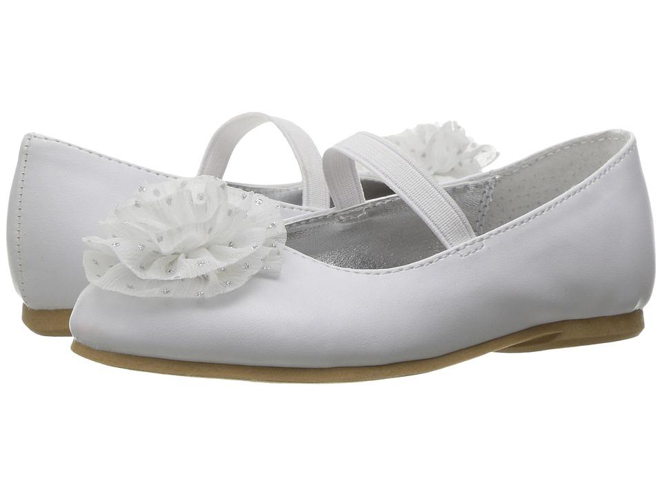 Nina Kids - Ash-T (Toddler/Little Kid) (White) Girl's Shoes