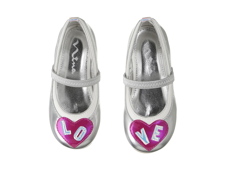 Nina Kids - Dare-T (Toddler/Little Kid) (Silver) Girl's Shoes