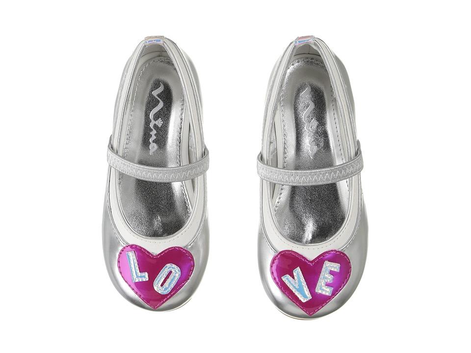 Nina Kids - Dare-T (Toddler/Little Kid) (Silver) Girl's Shoes