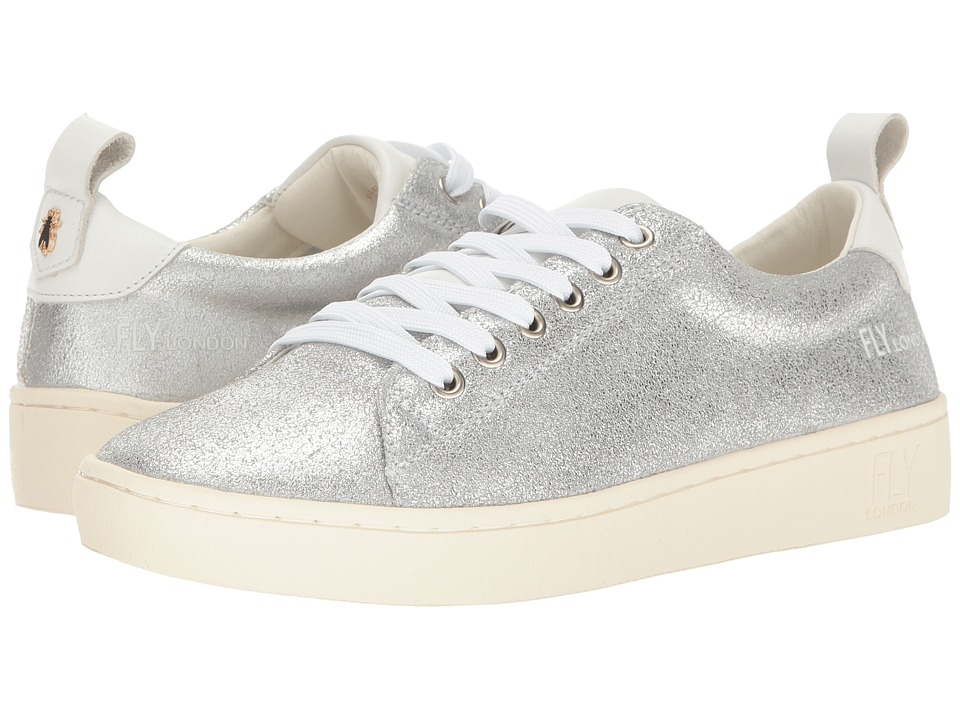 FLY LONDON - Maco833Fly (Silver) Women's Lace up casual Shoes
