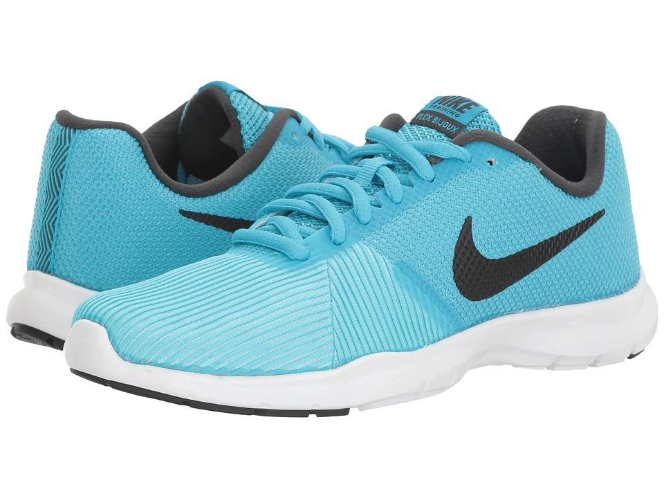 Nike - Flex Bijoux (Chlorine Blue/Black/Still Blue) Women's Cross Training Shoes