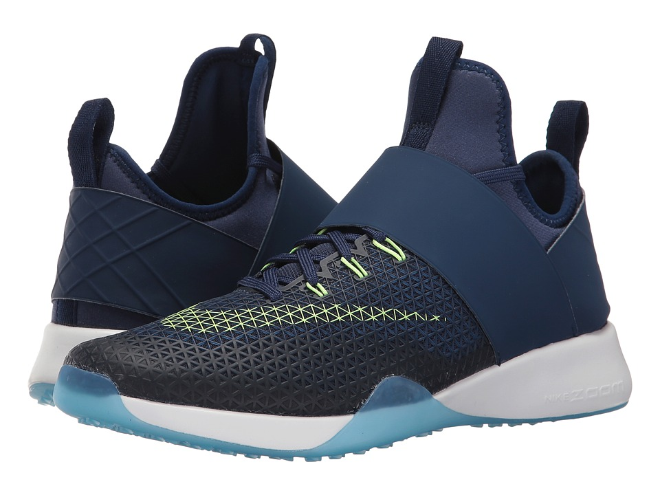 Nike - Air Zoom Strong (Binary Blue/Ghost Green/Blue Glow/White) Women's Shoes