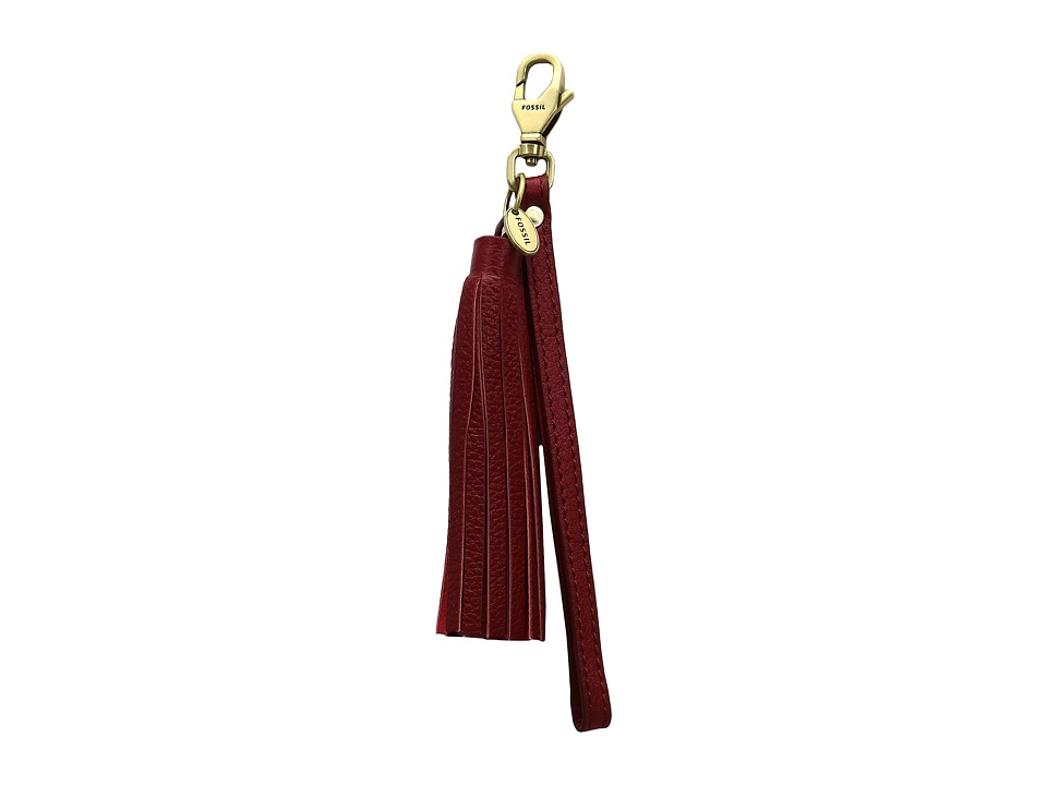 Fossil - Wristlet Strap for Pouches (Crimson) Wallet