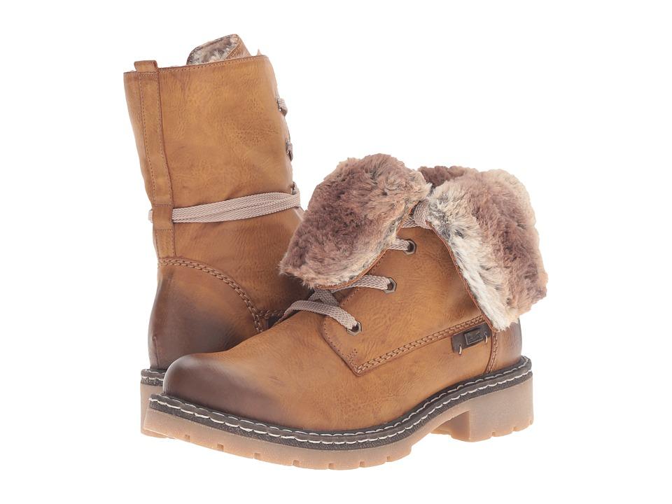 Rieker - Y1421 (Cayenne/Kastanie/Braun Eagle/Ambor/Ferret) Women's Boots