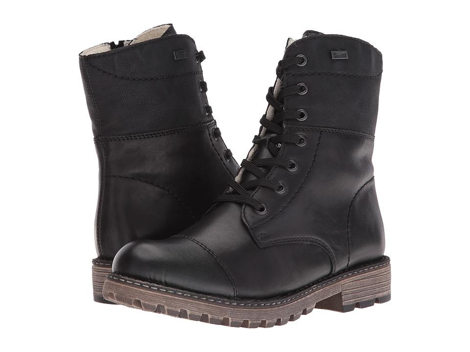 Rieker - Y6723 (Black/Black/Black Fino/Cristallino/Namur) Women's Boots