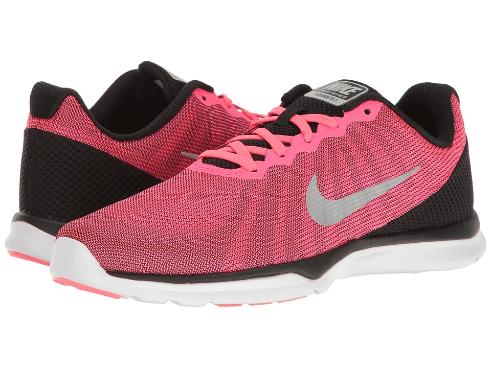 Nike - In-Season TR 6 Print (Racer Pink/Metallic Silver/Black/White) Women's Cross Training Shoes