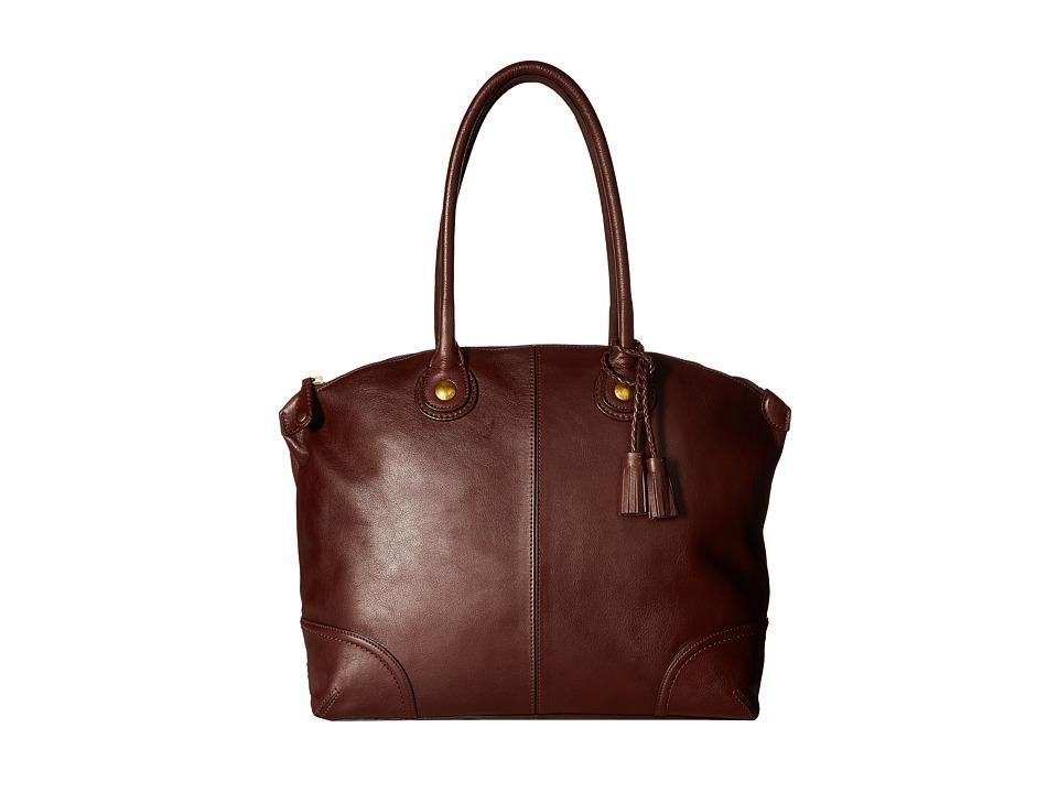 Cole Haan - Delphine Tote (Chestnut) Tote Handbags