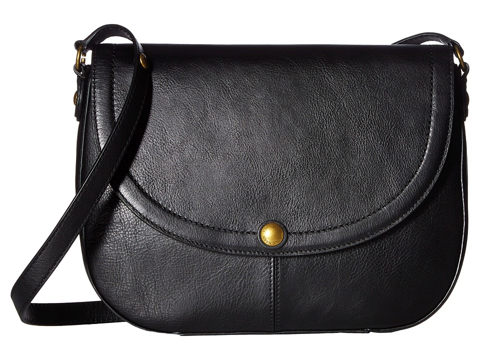 Cole Haan - Delphine Saddle Bag (Black) Bags