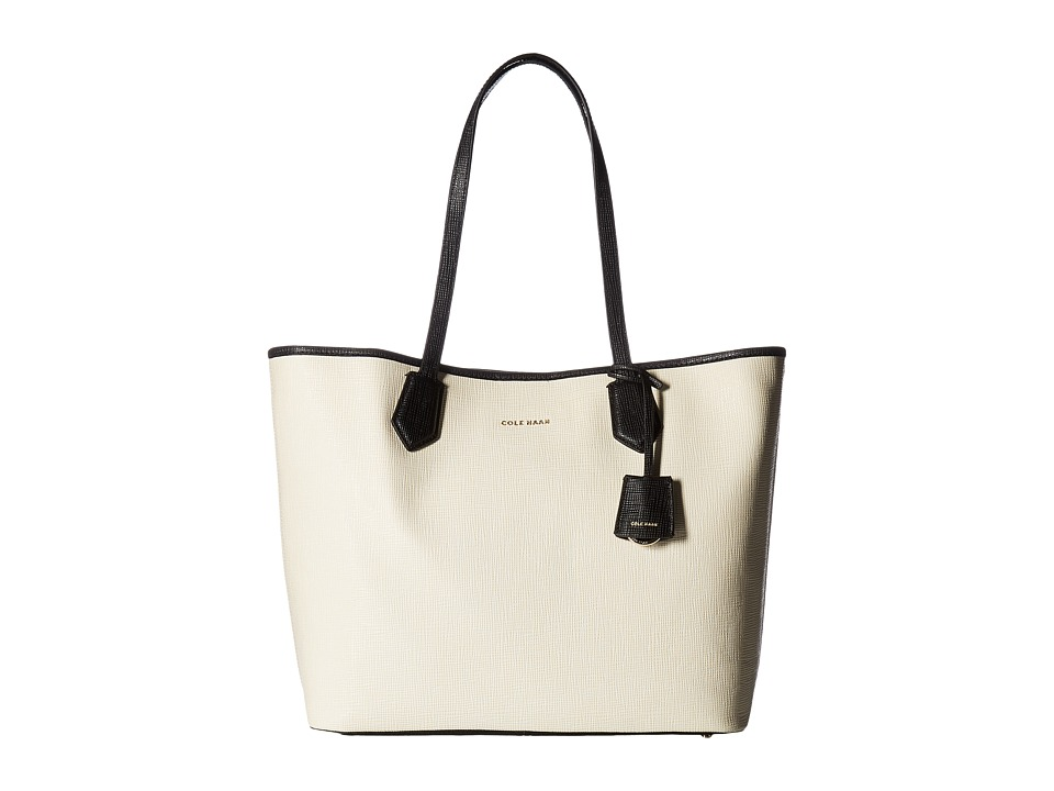 Cole Haan - Abbot Tote (Black/Ivory) Tote Handbags