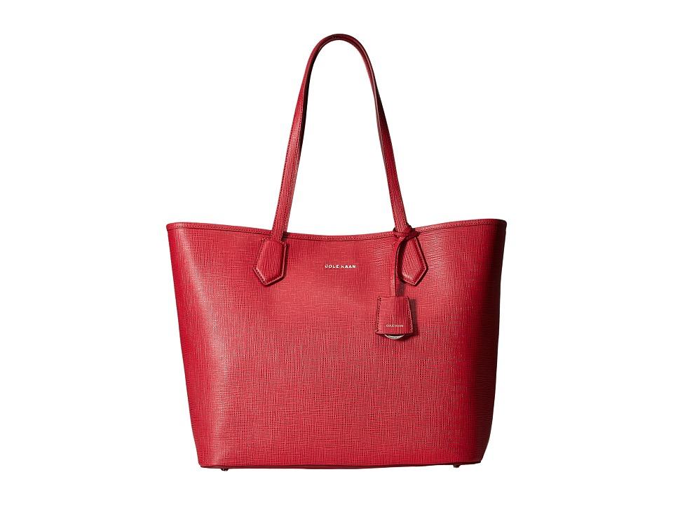 Cole Haan - Abbot Tote (Crimson) Tote Handbags