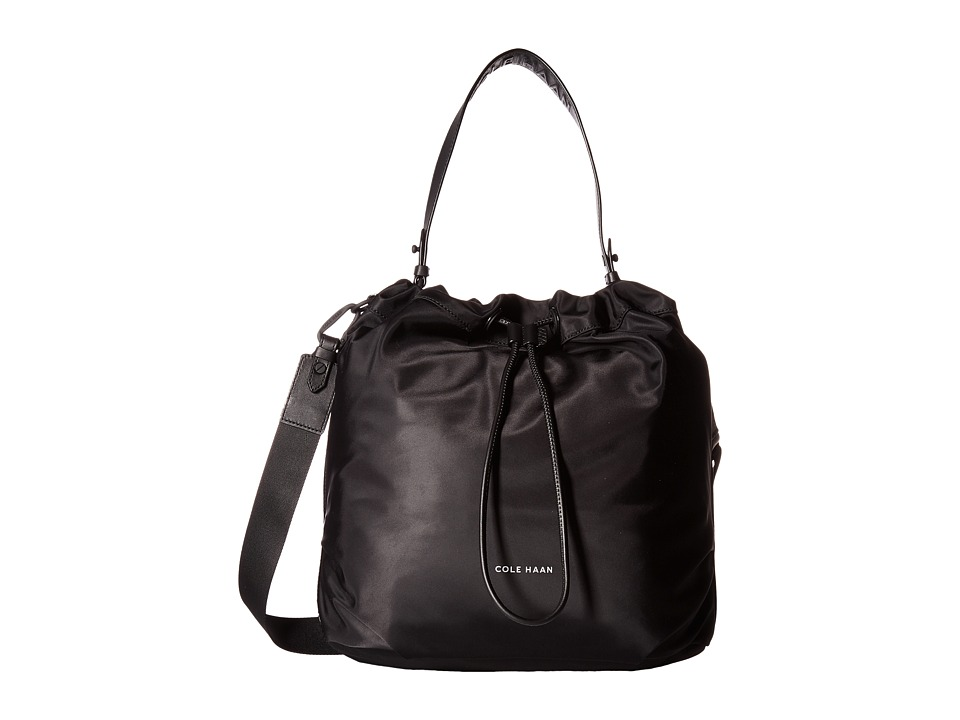 Cole Haan - Stagedoor Small Studio Bag (Black) Bags